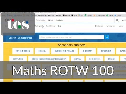 TES Maths Resource of the Year 2015 - Mr Barton Maths Blog