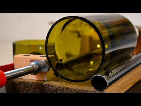 25 best ideas about bottle cutting on pinterest cutting for How to cut glass bottles lengthwise