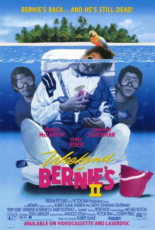 Weekend at Bernies 2 27x40 Movie Poster (1993)