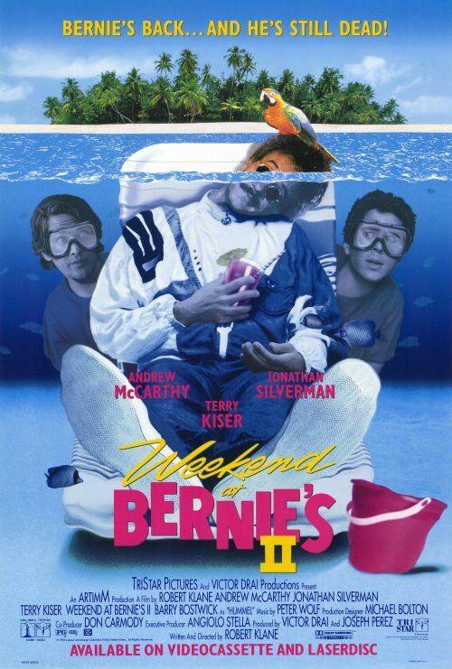 Weekend at Bernies 2 27x40 Movie Poster (1993)