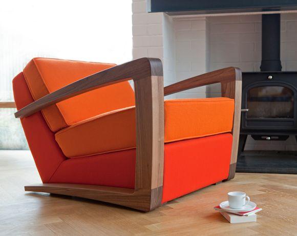 Kustom Armchair  More great stuff by Bark Furniture.