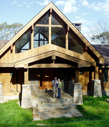 Great entry lindal cedar homes architecture pinterest for Log cabin sunroom additions