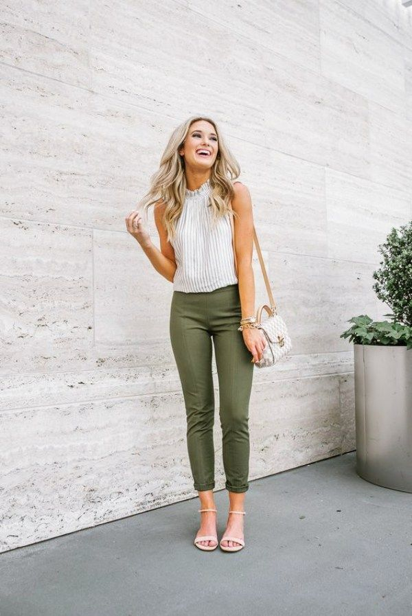 45 Trendy Business Casual Work Outfits for Women - OutfitCafe | Formal casual  outfits, Cute work outfits, Work outfits women