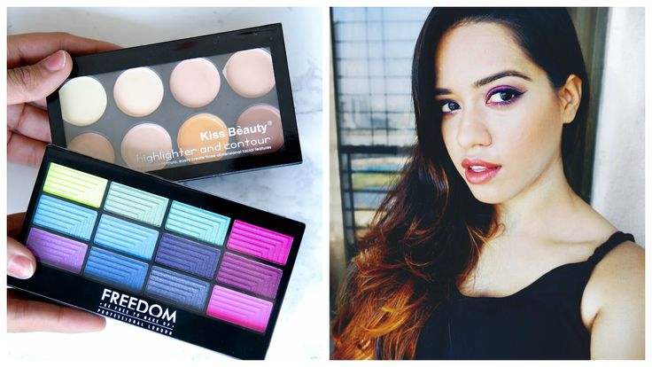 "My first impressions and review of the Freedom Pro 12 Chasing Rainbow Palette and the Kiss Beauty Highlight and contour palette that I bought very recently. Let me know how you liked it let's chat in the comments xx DON'T FORGET TO SUBSCRIBE & CLICK ""SHOW MORE""   About Me: I am Debasree a beauty vlogger at  http://www.youtube.com/c/debasreebanerjee  and blogger at http://ift.tt/1RRR0WF You keep up with me @debasreee on my Instagram and Twitter.  Stalk me here:  Facebook http://ift.tt/1jalZSY…"