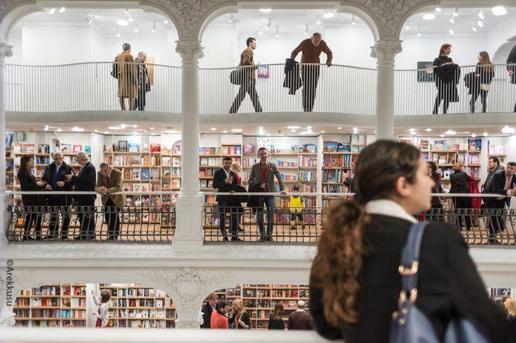 Cărturești Carusel Bookstore in Bucharest    Opening night   carturesticarusel.ro #amazing #bookstore #carturesti