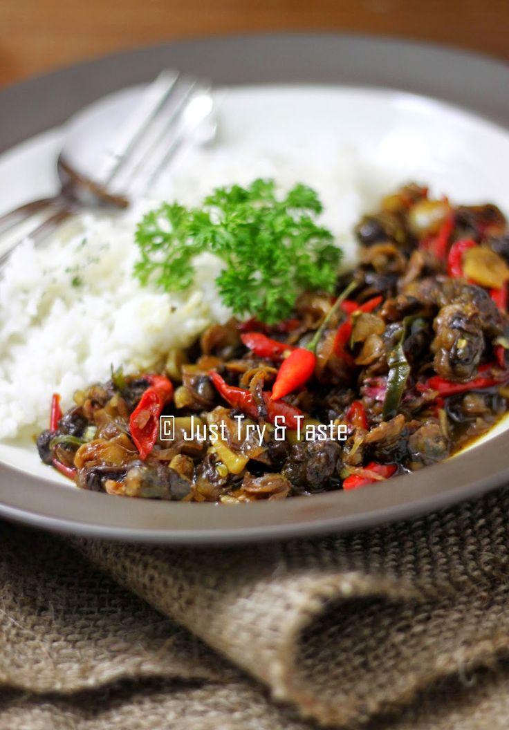 Just Try & Taste: Tumis Kerang Asam, Pedas, Manis