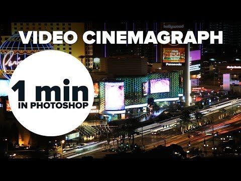 How to Create a Cinemagraph Using Photoshop in Under a Minute