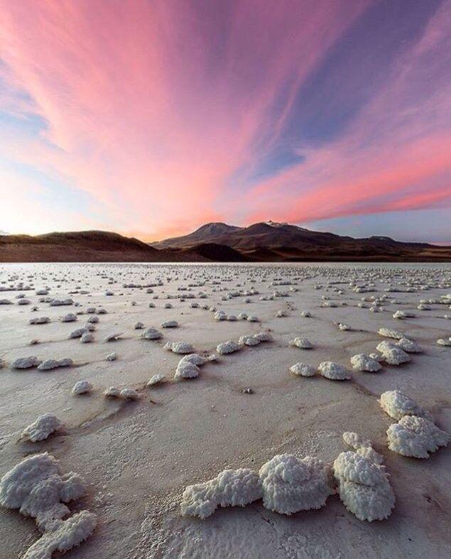 Tuyajto lake, Atacama Desert, Chile