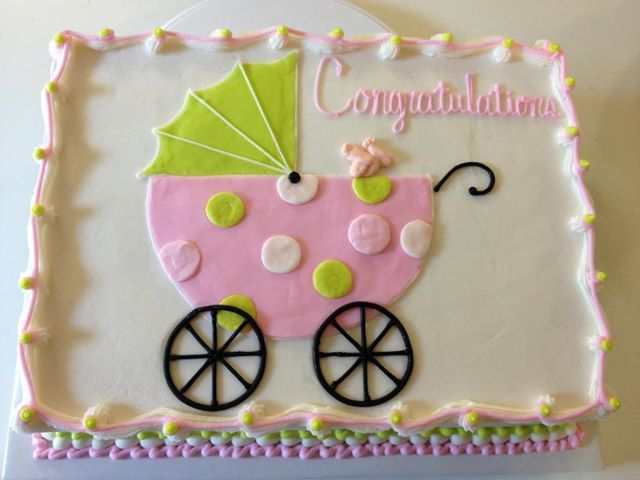 Best 25+ Baby carriage cake ideas on Pinterest Baby ...