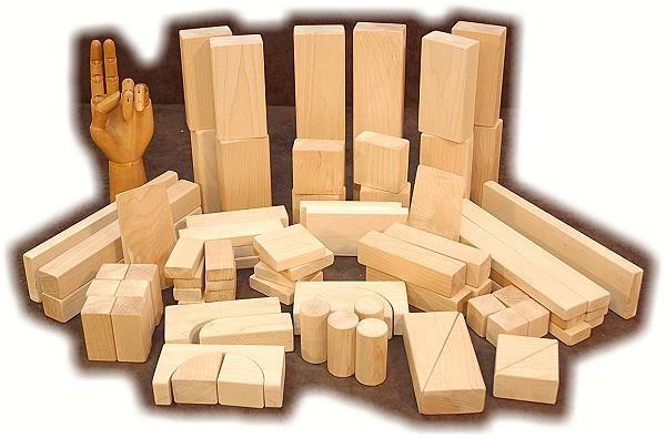 Frank Lloyd Wrights toys as a child - Froebel Blocks