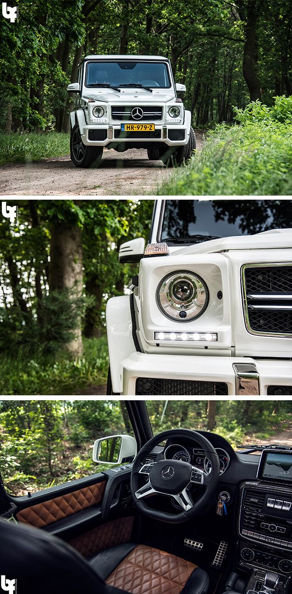 The powerful offroad hero: The Mercedes-AMG G 63 captured by Bas Fransen (www.basfransen.com). [Mercedes-AMG G 63 | combined fuel consumption: 13.8 l/100km | combined CO₂ emissions: 322 g/km | http://mb4.me/efficiency_statement]
