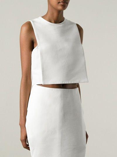 J.W. ANDERSON - structured vest blouse 8
