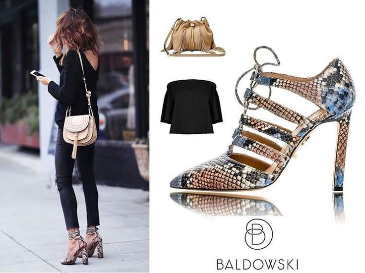 Get inspired with @baldowskiwb 👠 #baldowski #baldowskiwb #polishbrand #shoes #shoeaddict #shoelovers #heelslovers #snakepattern #animalprint #trendy #stylish #shopnow #shopnow #springsummer #streetwear #streetstyle #streetfashion #photooftheday #instagood #fashioninspiration