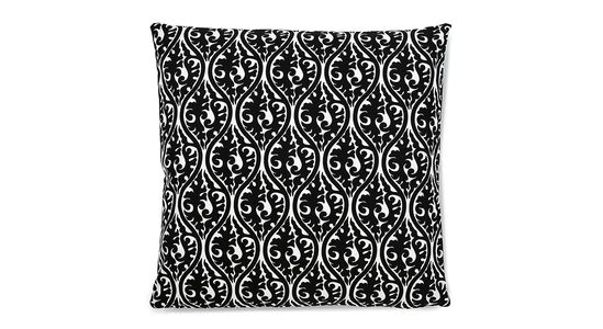Bold geometric pillows for your bed, sofa or chairs! Art and artful home decor is the easiest way to add movement to any space. It doesn't cost a fortune to breathe life into a space. Mix patterns or play it safe with a monochromatic look. Licorice, 22x22