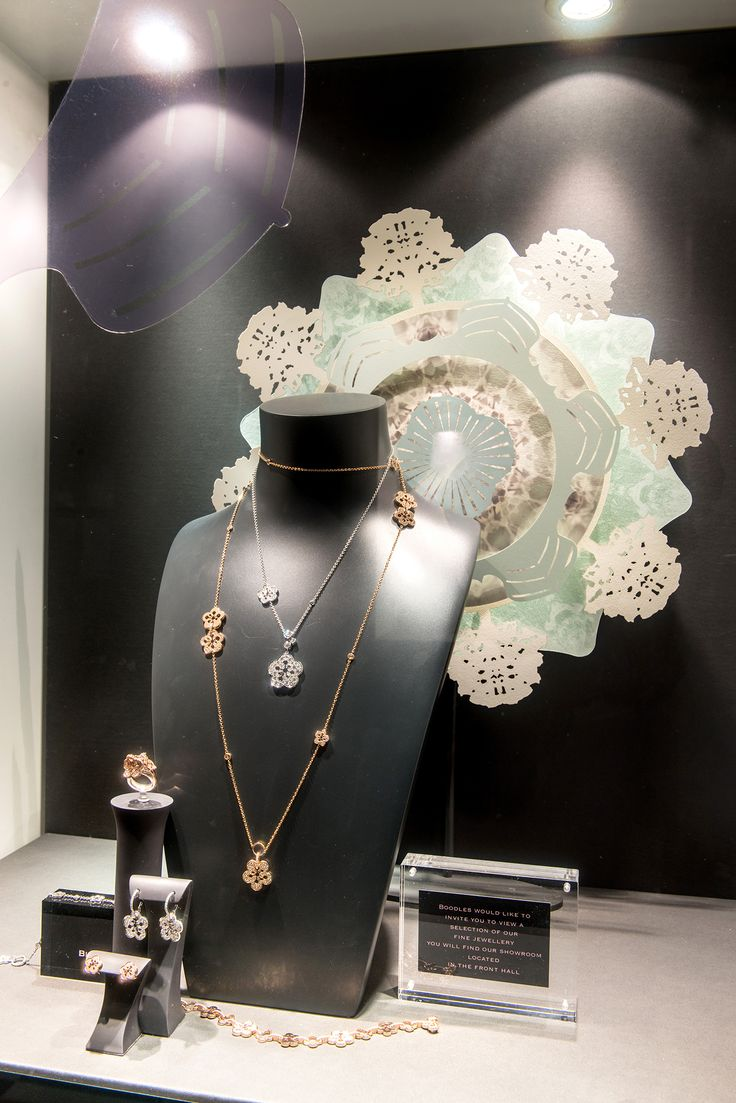 13 best ma jewellery watches images on pinterest for Jewelry store window displays