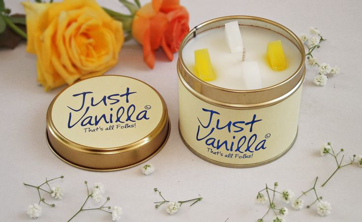 Just Vanilla candle