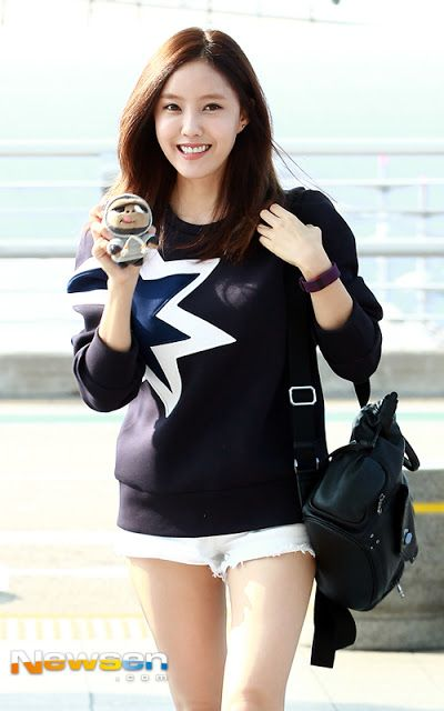 T-ara HyoMin departs for Pittsburgh show off her SEXY Legs at the Airport [More Image] >> http://kpopselfie.blogspot.com/2015/09/t-ara-hyomin-departs-for-pittsburgh.html