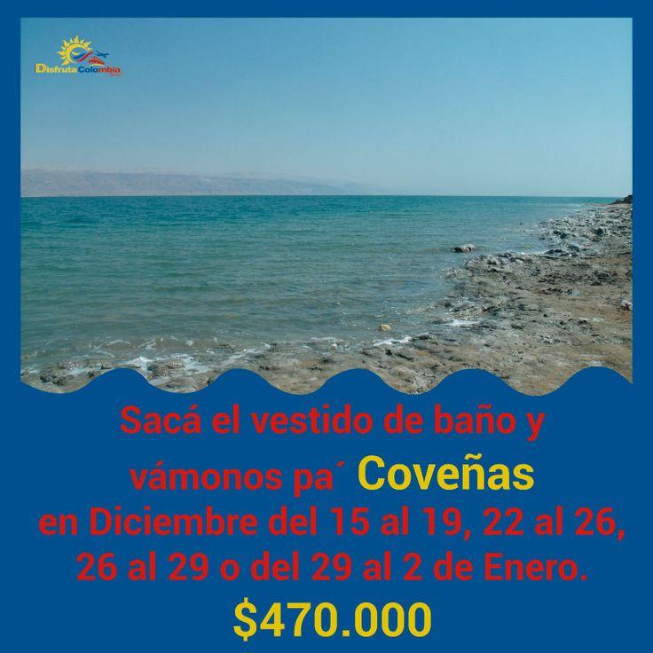 Vamos pal' #paraiso que nos tiene #coveñas estas #vacaciones #compratupasaje