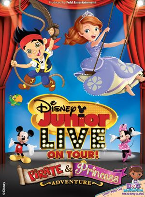 Win tickets to see Disney Junior LIVE On Tour! Pirate and Princess Adventure in #ReadingPA