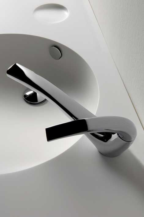 toyo ito - never thought i would love a faucet so much - it's soo beautiful like a work of art, a sculpture