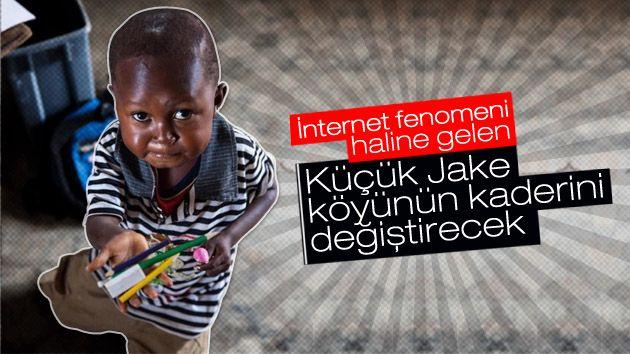 Küçük Jake köyünün kaderini değiştirecek  http://www.ilkelihaber.com/kucuk-jake-koyunun-kaderini-degistirecek/