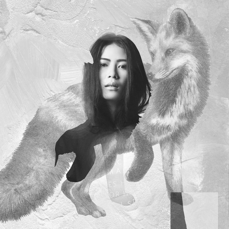Vien Febrina, Model. Collage by Stargazers