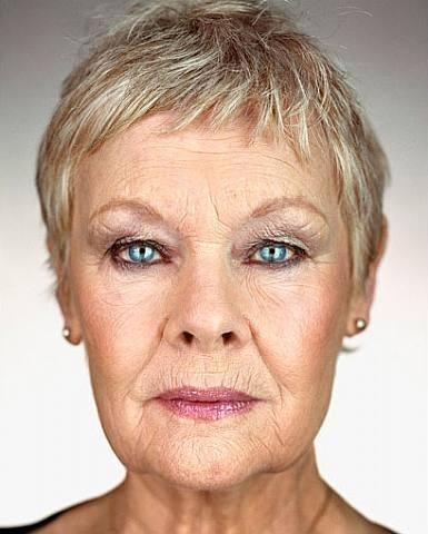 Judy Dench by Martin Schoeller, 2 0 0 7.
