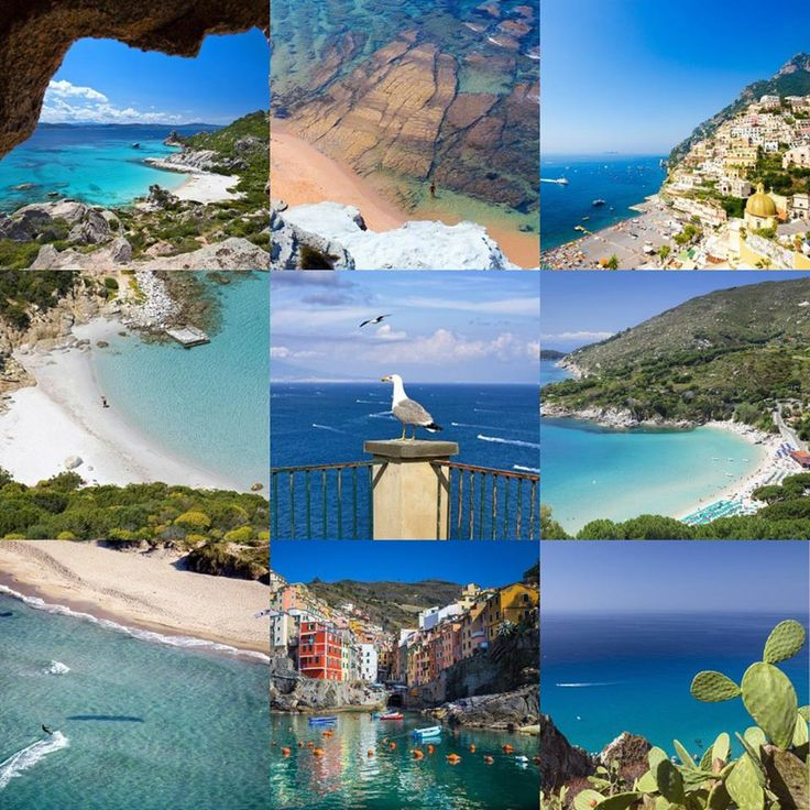 The Italian Beauty? THE ITALIAN SEA!