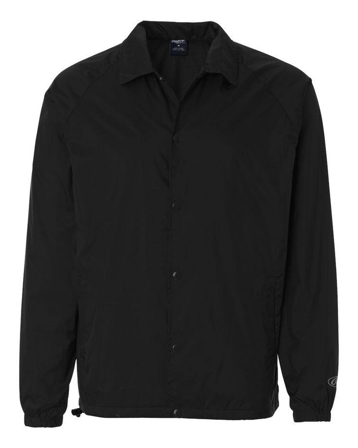 Rawlings - Nylon Coach's Jacket - 9718 Black