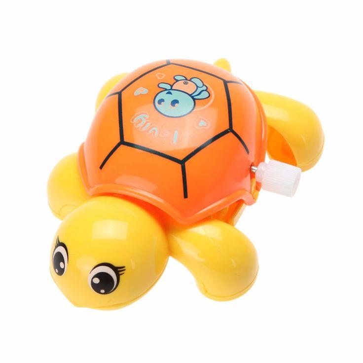 1pcs  Baby Toys Cute Mini Clockwork Tortoise New Fashion Baby Animal Turtle Wind Up Toys