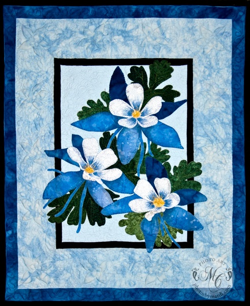 Columbine (original design) by Mardi Carter at Photos by Mardi