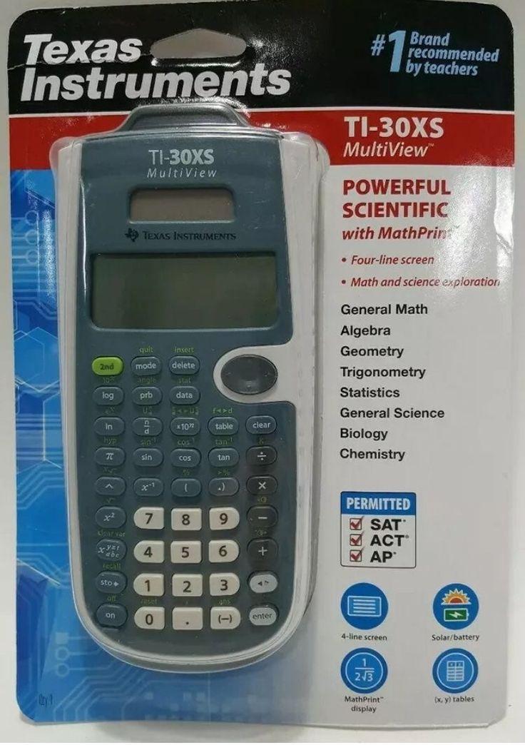 New in box texas instruments ti30xs multiview scientific