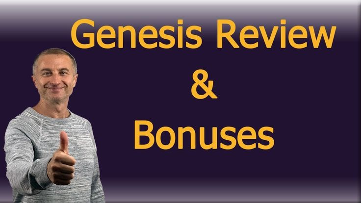 Genesis Review And Bonuses https://youtu.be/V0n7W5MDO08