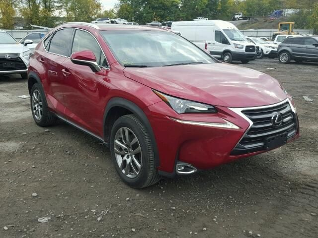 Salvage 2015 Lexus Nx200t  Suv For Sale | Ny 907a Title