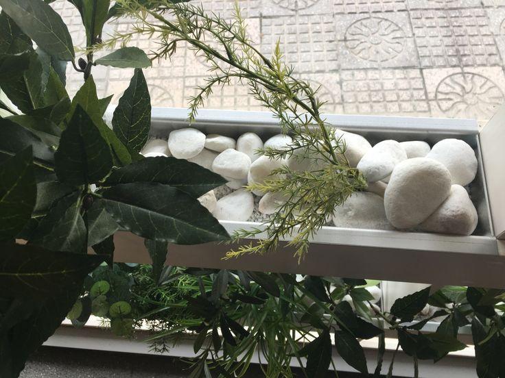 Canto rodado blanco en restaurante Cobo Vintage de Burgos