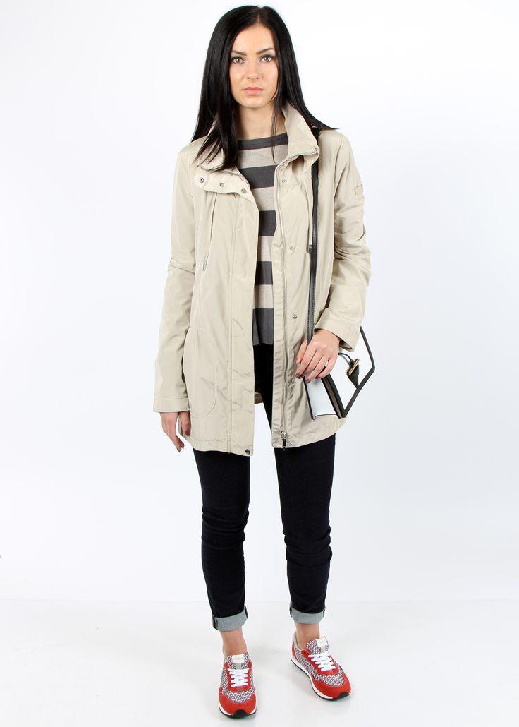 GEOX - Jacket 74 EUR  #geox #womensjacket #jacket #online #shopping #worldwide #kokos #onlineboutique #fashion