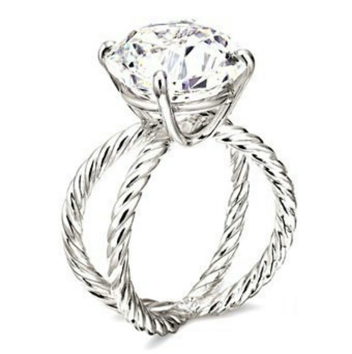 Actual perfection. David Yurman engagement ring