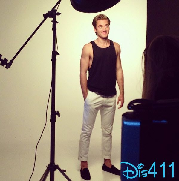 Photo Shoot For Luke Benward With Glamoholic February 25, 2014