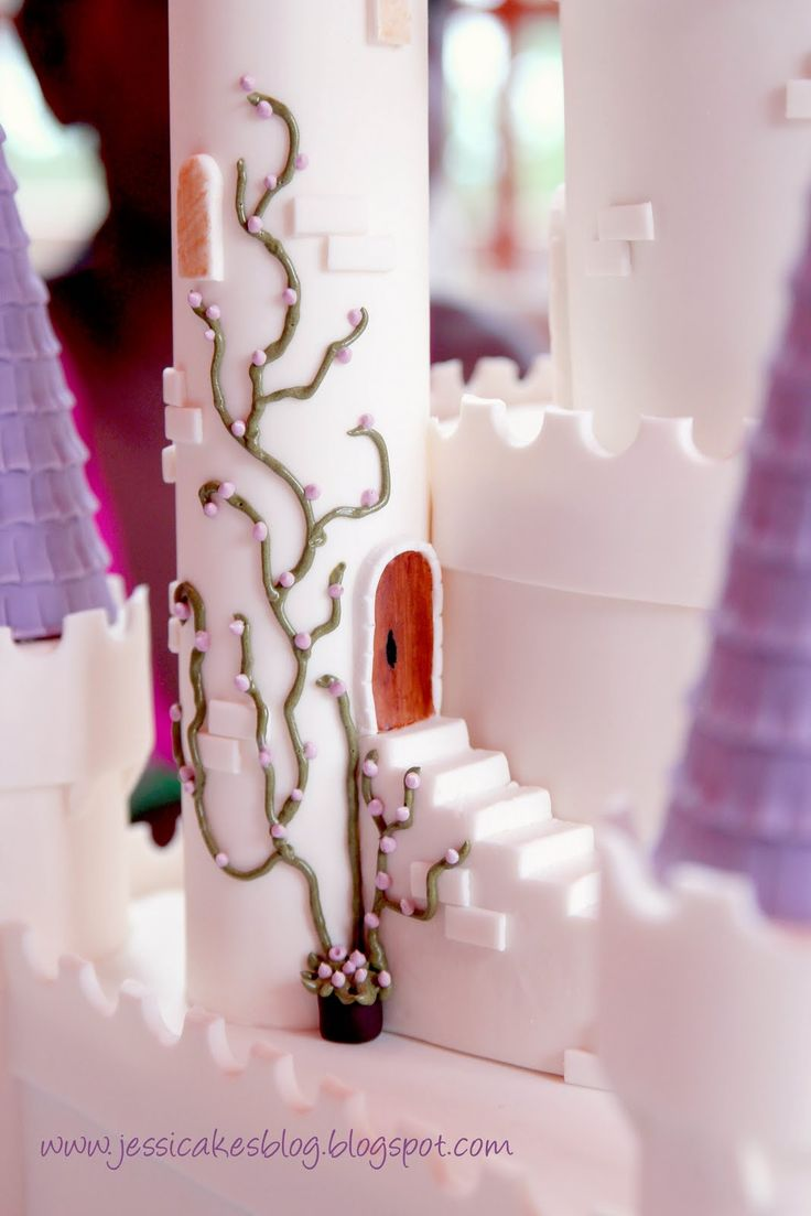 50 best castle cakes images on pinterest | princess castle cakes