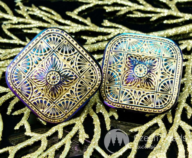 ✔ What's Hot Today: Handmade Large Czech Glass Buttons Square Matte Gold Purple Vitrail Size 18, 38mm 1pc https://czechbeadsexclusive.com/product/handmade-large-czech-glass-buttons-square-matte-gold-purple-vitrail-size-18-38mm-1pc/?utm_source=PN&utm_medium=czechbeads&utm_campaign=SNAP #CzechBeadsExclusive #38Mm_Czech_Button, #38Mm_Glass_Button, #Button_38Mm, #Czech_Button_18, #Czech_Flower_Button, #Czech_Glass_Button, #Czech_Large_Buttons, #Extra_Large_Button, #Flower_Glass