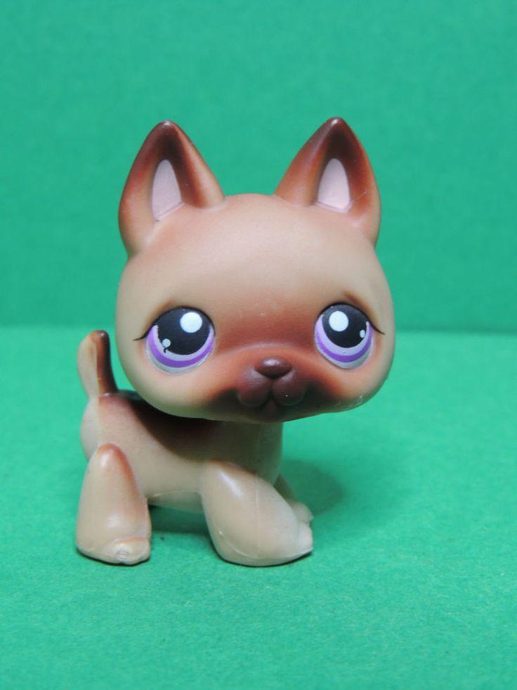 #364 chien Berger Allemand dog German Shepherd LPS Littlest Pet Shop figure 2007