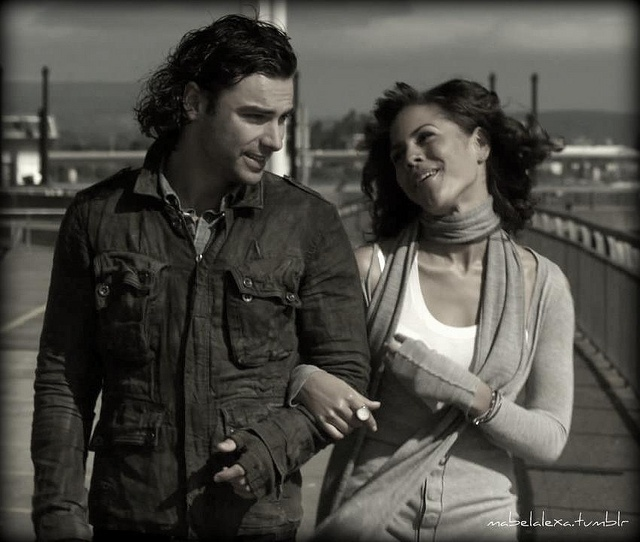 Mitchell and Annie, Vamp and Ghost from Being Human UK.