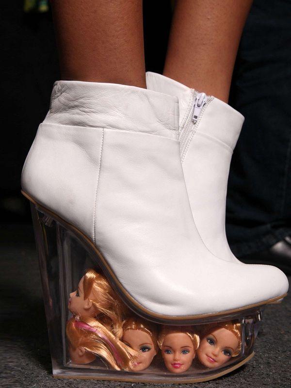 Miss Foxy Blog - This week we're loving... crazy barbie head heels :/ www.missfoxy.co.uk/blog