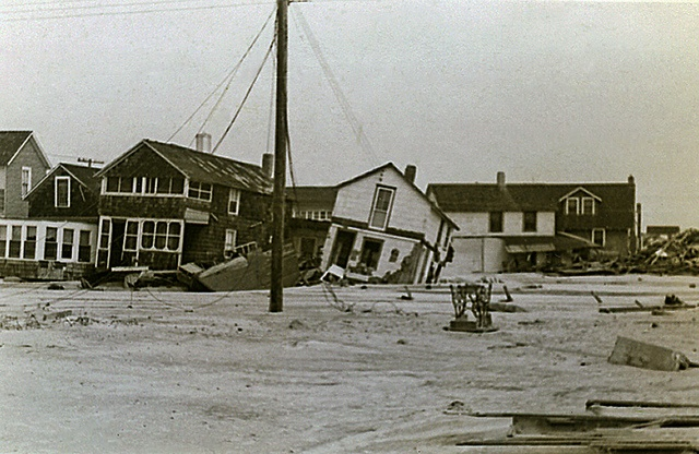 Long beach Island - 1944 hurricane damage