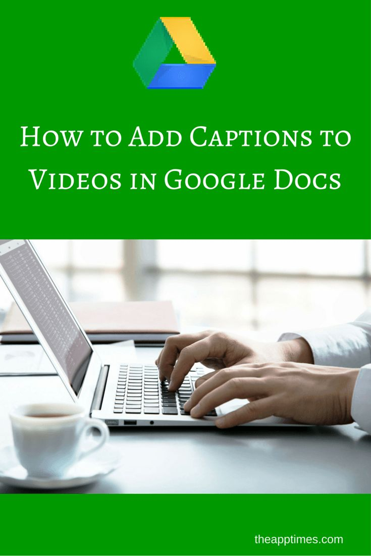 how to add image caption in google docs
