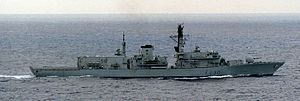 HMS Norfolk (F230) 1987, a Type 23 frigate, was laid down in 1985 by Yarrow…