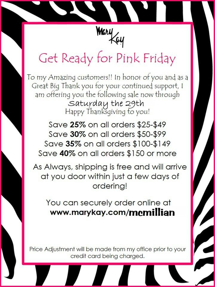 Mary Kay pink Friday | me | Pinterest | Pink and Mary kay