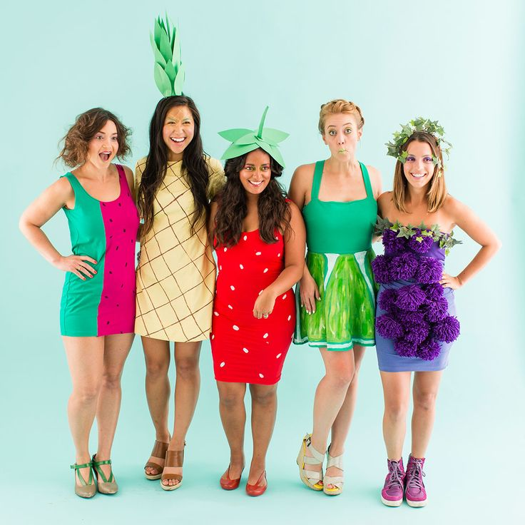 Fruit salad #squadgoals for Halloween!