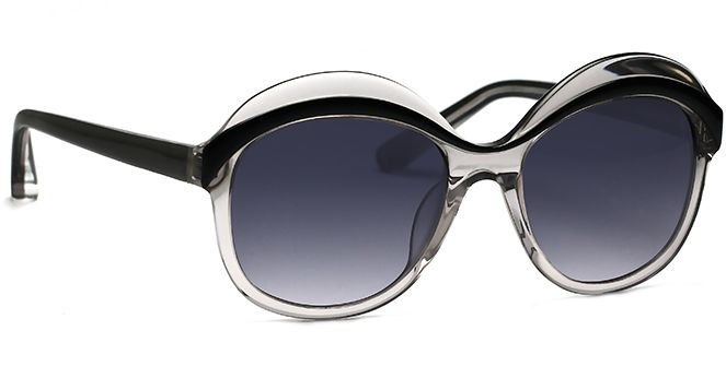 These curvy looking shades are stylishly modern and a little bit sporty, yet they convey femininity at the same time, with their oversized styling and expensive looking strong, solid arms. Verona can bring the cool factor up a notch if you're used to dressing casually, without making you feel like you've escaped from a tussle with an over eager stylist. Ideal for beach parties, Verona is also the ideal choice when you want to have some active fun like blading or boating.