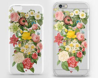 Caja del teléfono floral. Flor del iPhone   Caso de la galaxia   Caso de Xperia    --------------------------------------------- ☆ No es sólo un caso. Inspira ☆ ---------------------------------------------  Con libertad, libros, flores y la luna, que podría no ser feliz? — Oscar Wilde  CASO de ☆ goma (goma blanda):  -Fino y ligero -La más alta calidad de imágenes impresas, brillantes y colores saturados para siempre -Superficie impermeable de la imagen es fácil de limpiar. Nunca se desgasta…
